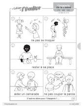 Imagerie: les règles de vie - FichesPédagogiques.com
