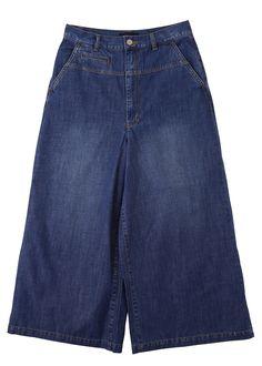 9 oz cropped jeans by Zucca. Also have it in dark indigo.