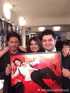 Daboo Ratnani - 'Celebrating my 2014 Calendar with SRK and his picture'.