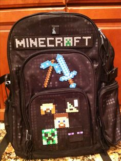 This year's Minecraft backpack!