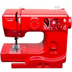 Perfect for the experienced seamstress or sewing enthusiast, the Janome Portable Sewing Machine is the perfect portable sewing solution. This compact machine is designed to handle anything from simple sewing tasks to in depth mending projects. Janome, Cheap Toys, Sewing Accessories, Joanns Fabric And Crafts, Sewing Stores, Craft Stores, Bandana, Machine Embroidery, Derby