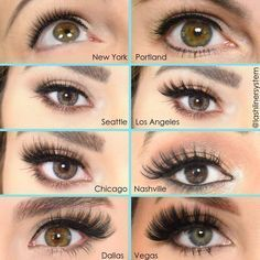 Lash Styles Tell us your favorite lash style ? <->You can find Maquiagem and more on our website.Lash Styles Tell us your favorite lash style ? Pretty Eye Makeup, Cute Makeup, Pretty Eyes, Makeup Looks, Makeup Inspo, Makeup Inspiration, Makeup Tips, Makeup Ideas, Beauty Skin