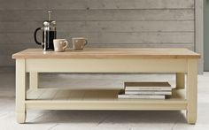 Buy Neptune Chichester Coffee Table, Limestone from our Coffee Tables range at John Lewis & Partners. Home Office Furniture, Living Room Furniture, Coffee Table With Shelf, Chichester, Living Spaces, Living Rooms, Shelves, Storage, Stuff To Buy