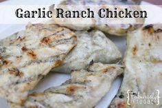 Garlic Ranch Chicken {FabuLESS Freezer Cooking}