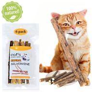 Jall Cat Stick 6 Matatabi Catnip Dental Actindia Polygama Natural Silvervine Kitten Cleaning Cat Cleaning Catnip
