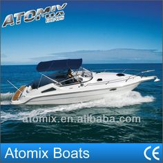 8m Fiberglass Motor Boat With Inboard Volvo Penta Engine (7500 Sports Cruiser)…