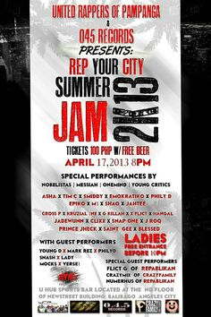 Summer Jam Underground Hiphop, Summer Jam, Free Beer, Hip Hop, The Unit, Artists, Hiphop, Artist