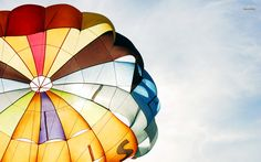 Colorful Parachute