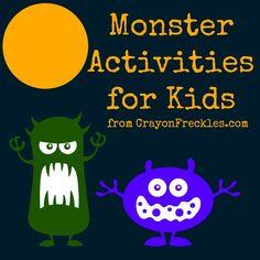 25 Monster Activities for Kids