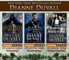 "If you're looking for last minute gifts for the #book lovers in your life, why not give them #paranormal, historical &/or #timetravel #romancenovels full of #action, passion, #humor & #romance? ""Book after book, Duvall brings her readers complex, fascinating tales of romance, danger and loyalty.""—RT Book Reviews  • A SORCERESS OF HIS OWN  (medieval romance with fantasy/paranormal elements)  http://bit.ly/ASorceressOfHisOwn_Kindle • BLADE OF DARKNESS  (paranormal romance)…"