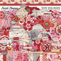 Love You More by Amber Shaw & Tickled Pink Studio