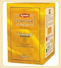 Ramdev Food Products Pvt Ltd is an ISO 22000 safety certified manufacturer of top quality Indian spices. Ramdev offers premium quality turmeric powder in 100gm, 500gm and 1 KG packing sizes.