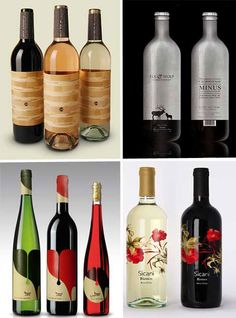 Drink Them In: 61 Creative & Artistic Wine Label Designs | WebUrbanist