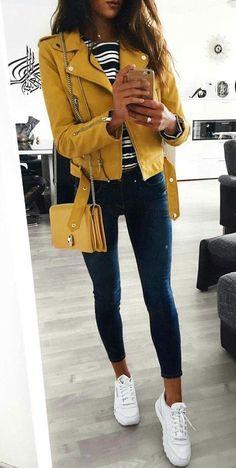 45 Trendy Fall Outfits To Wear Right Now   15  Fall  Outfits Neformální  Oblečení 0f8c16d9a9