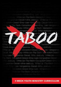 Taboo 4-Week Youth Ministry Curriculum