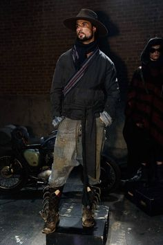 Greg Lauren Fall/Winter 2016/17 - New York Fashion Week Men's