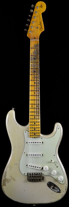 Fender CS 56 Stratocaster Heavy Relic Desert Sand AA Flame Neck