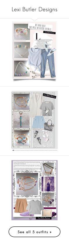 """Lexi Butler Designs"" by karic-lejla ❤ liked on Polyvore featuring moda, Bomedo, Levi's, TIBI, Kim Seybert, Monki, Karl Lagerfeld, Marni, New Balance y River Island"