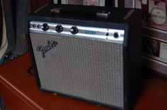 Today, Lawman Guitars is Presenting...  A 1977 Fender Silverface Champ Amp. It sounds really good and its LOUD!! Give us a call. Lawman Guitars. 515-864-6136