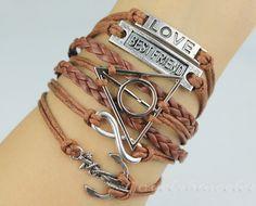 Love is best friend harry potter is much more by lovelybracelet, $7.99