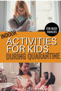 With a majority of the schools closed down to prevent the spread of the Coronavirus, parents are left scrambling with what to do with the kids– and how to talk to them about this unprecedented disruption caused by COVID-19. I have put together this list of 20 fun things to do with kids at home while quarantined for the Coronavirus #indoorplay#kidactivitiesduringquarantine# quarantine#coronavirus