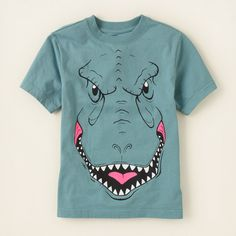 boy - graphic tees - dino graphic tee | Children's Clothing | Kids Clothes | The Children's Place