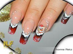 Die 32 Besten Bilder Von Nailart Winter Winter Nail Art Christmas