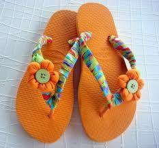 sandalias decoradas - Buscar con Google