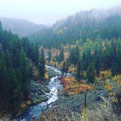 Warmriver near Ashton Idaho just 50 miles from Yellowstone National Park on the West Yellowstone Rail Trail.