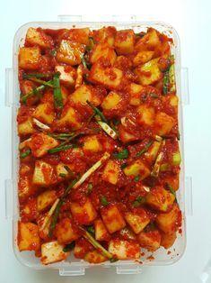 K Food, Good Food, Banchan Recipe, Korean Kimchi, Cooking Recipes For Dinner, Asian Recipes, Ethnic Recipes, I Want To Eat, Korean Food