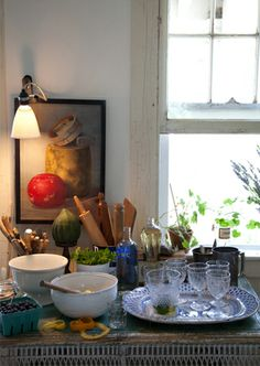Kitchens: Perfectly Rustic