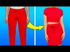 #easystyle#womens#trendy Easy Clothing, Clothing Hacks, Diy Fashion Hacks, Fashion Tips, Old Clothes, Youtube, Simple Style, New Outfits, Pajama Pants