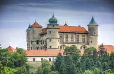 Castle by ~marrciano on deviantART Nowy Wisnicz Castle - Southern Poland