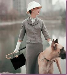 Vogue Feb 1956 Spring fashion