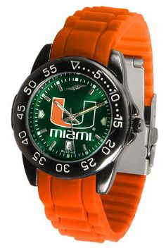 Miami Hurricanes Fantom Sport AC Watch With Color Band