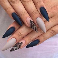 Cute Matte nails