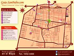 Mapa : Zona Valle Guia-SanPedro.com   otoño 2014