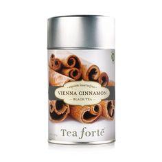 Tea Forte Loose Tea Canister Vienna Cinnamon