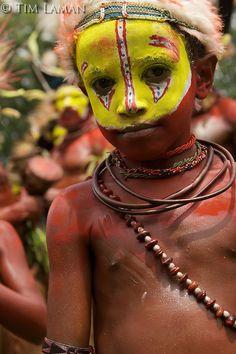 Huli Wigman from Tari area, Southern Highlands Province..Goroka, Eastern Highlands Province, Papua New Guinea.