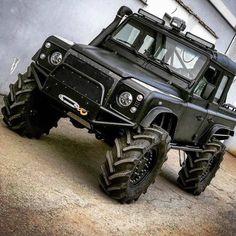 Jeep 4x4, Jeep Truck, 4x4 Trucks, Custom Trucks, Cool Trucks, Custom Cars, Suv 4x4, Landrover Defender, Defender 90