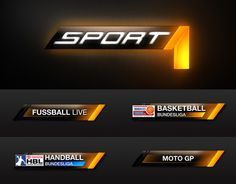 Sport Today is a sports news programme produced by the Sport 1 and is shown on Sport 1 . Game Ui Design, Layout Design, Text Design, Sports Templates, Channel Branding, Lower Thirds, Sports Channel, Sports Graphics, Screen Design