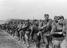 Пехота РККА на марше