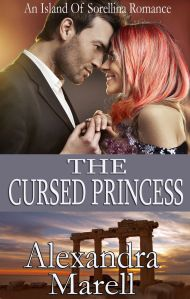 The Cursed Princess (An Island of Sorellina Romance) by Alexandra Marell has a bit of everything to keep readers pleasantly enthralled.  If, like many romance novels, this were a simple boy meets girl, boy falls for girl, couple has troubles, and boy wins girl, it would be nothing new under the dusty moon; but this tale is so much more.  A simple pair of star-crossed lovers this is not.