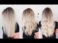 COLOUR TECHNIQUE: Seamless Highlights - ©ustom collection blondes 2016 - YouTube