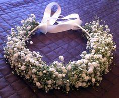 Coroa de Flores Gypsophila (Mosquitinho)