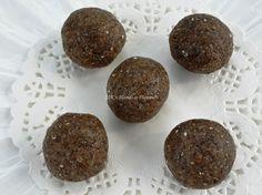 #Almond #ChiaSeeds Laddu Recipe by Shyamala Kumar on Plattershare