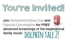 homeschool movie club day DolphinTale2