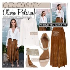 """""""Get the look: Olivia Palermo"""" by merrygorounds ❤ liked on Polyvore featuring Diane Von Furstenberg, Paige Denim, Whiteley, GetTheLook, CelebrityStyle, polyvoreeditorial and WardrobeStaples"""