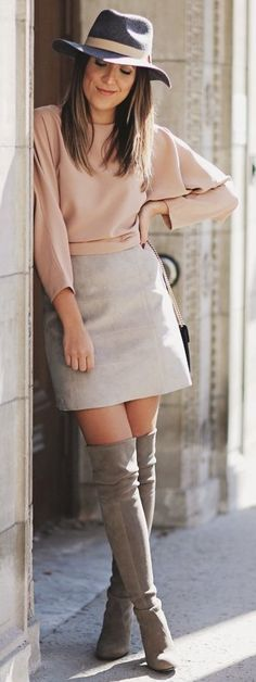 #fall #trending #street #outfits | Neutral Tones Outfit