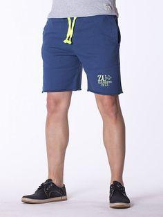 Pantaloni scurti barbati ZU - albastru Gym Men, Sport, Interior Design, Fashion, Nest Design, Moda, Deporte, Home Interior Design, Fashion Styles